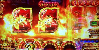 ミリオンゴッド 神々の凱旋 G-STOP Sテンパイ