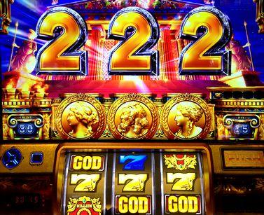 ミリオンゴッド 神々の凱旋 天井直前 神殿 中段黄7