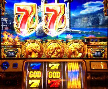 ミリオンゴッド 神々の凱旋 GOD揃い 7テンパイ