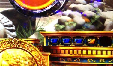 ミリオンゴッド 神々の凱旋 天井前青7の3連