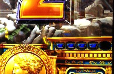 ミリオンゴッド 神々の凱旋 青7の4連