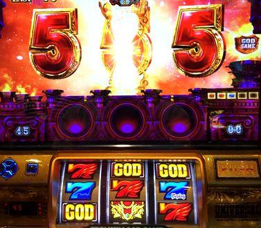 ミリオンゴッド 神々の凱旋 SGG 赤7の2連