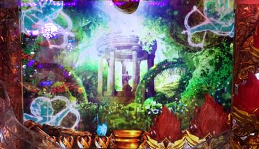CRミリオンゴッドライジング 天使の森ステージ