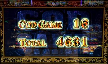 ミリオンゴッド 神々の凱旋 16セット4千枚オーバー