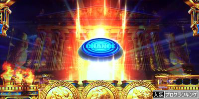 ミリオンゴッド 神々の凱旋 神殿 チャンスボタン