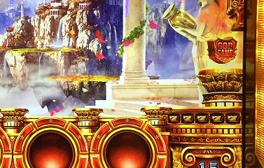 ミリオンゴッド 神々の凱旋 黄7の9連