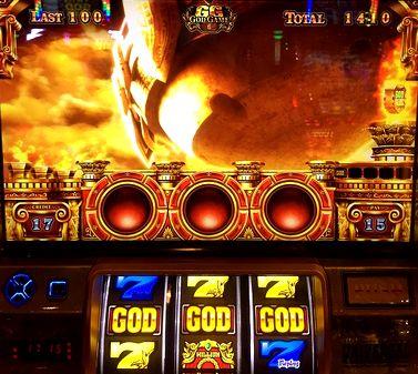 ミリオンゴッド 神々の凱旋 GOD揃い ゴッドステージ
