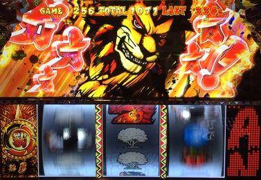 獣王 王者の覚醒 上段赤7 強チャンス目