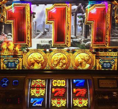 ミリオンゴッド 神々の凱旋 中段赤7