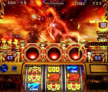 ミリオンゴッド 神々の凱旋 SGG 中段赤7