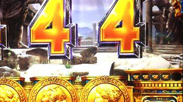 ミリオンゴッド 神々の凱旋 通常時黄7の4連