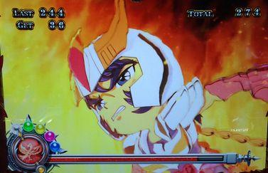 聖闘士星矢 女神聖戦 ビッグボーナスバーニング フェニックス一輝