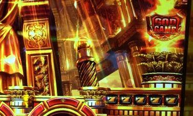 ミリオンゴッド 神々の凱旋 黄7の5連 シンボル金