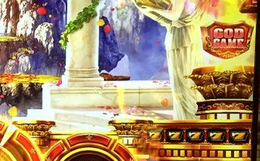 ミリオンゴッド 神々の凱旋 黄7の9連 赤シンボル