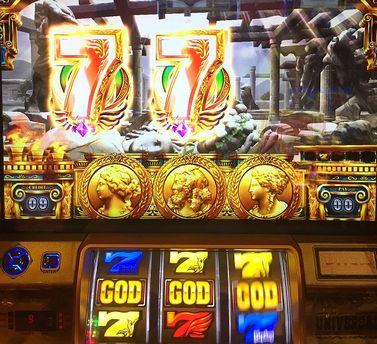 ミリオンゴッド 神々の凱旋 7図柄テンパイ