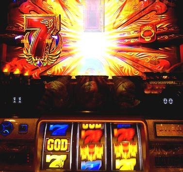 ミリオンゴッド 神々の凱旋 天空の扉 左7 GOD一確