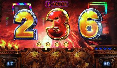 ミリオンゴッド 神々の凱旋 G-ZONE青7の4連