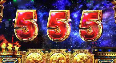ミリオンゴッド 神々の凱旋 銀河演出当たり5揃い