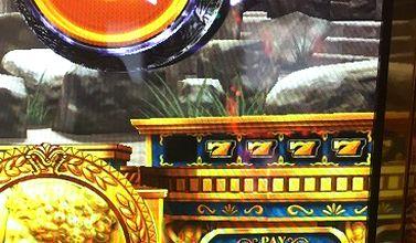 ミリオンゴッド 神々の凱旋 黄7の4連
