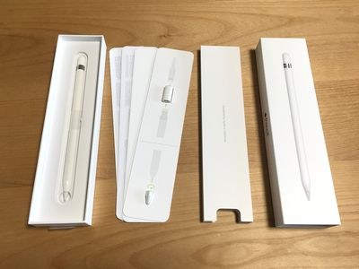 Apple Pencil 開封