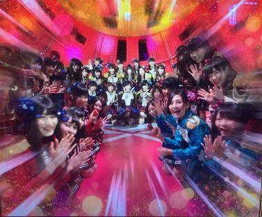 AKB48 勝利の女神 フリーズ サプライズパレード