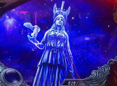 聖闘士星矢 海皇覚醒 女神像ステージ