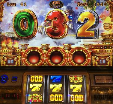 SGG-EX ミリオンゴッド 神々の凱旋