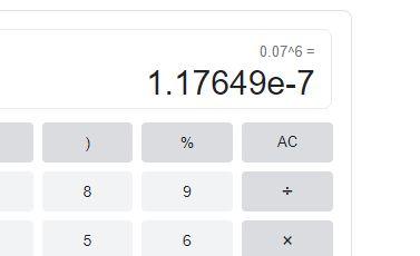 0.07^6=